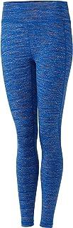 Cutter and Buck Women's Bolt Active Spacedye Leggings; Womens; High Waist; Activewear