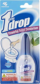 One-Drop Toilet Deodorizer, Morning Garden,20 millilitre