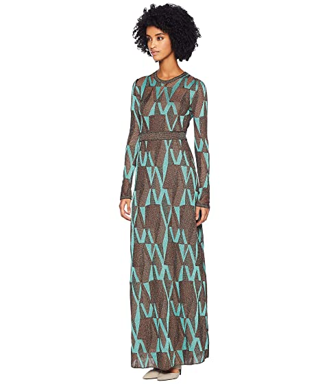 6b6118fa8e50 M Missoni Geo Lurex Maxi Dress at Luxury.Zappos.com