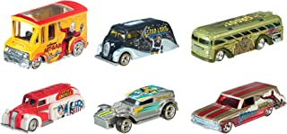 Hot Wheels Pop Culture Collection Marvel Die-Cast Vehicle (6-Pack)