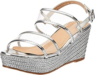 Shoexpress Braided Platform Wedges For Women