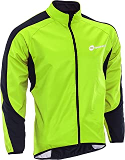 sponeed Men`s Windproof Jackets Cycling Fleece Coat Shirts Winter Thermal Bicycle Tops Bike Clothes