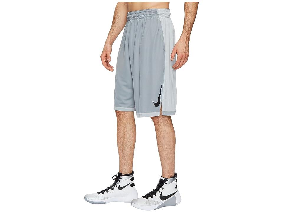 Nike Dry Dribble Drive Basketball Short (Wolf Grey/Black) Men