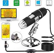 USB Microscope, Splaks 1000x High Power USB Digital Microscope 3 in 1 PCB Microscope..