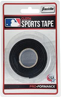 Franklin Sports Black Bat Tape - 10 Yards