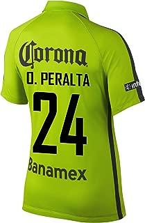 O. Peralta #24 Club America Women's Soccer Jersey 2014/15