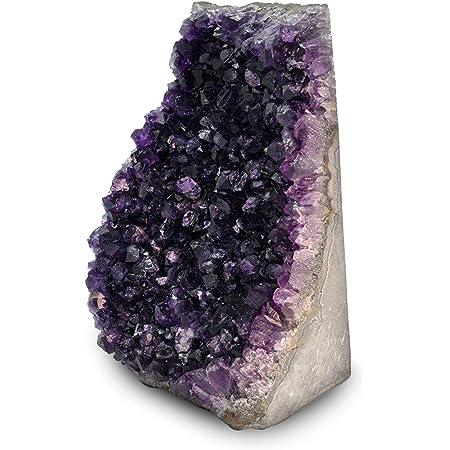 lb BIG Amethyst Geode,Cathedral Crystal Cluster,Amethyst Uruguay Details about  /8 Dark Purple