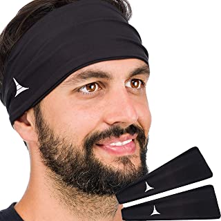 French Fitness Revolution Headband for Men and Women – Sweatband for Sports, Workout, Running, Cycling and Yoga. Moisture ...