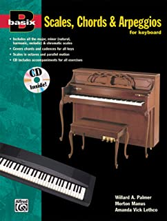 Basix Scales, Chords and Arpeggios for Keyboard: Book &a