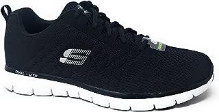 Skechers Mens Flex Black/Black/White 10.5 D US