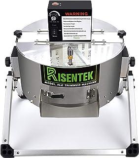 Risentek Electric Bud Leaf Trimmer Machine Model-XLE 16-inch Automatic Open Top Hydroponic Bowl Trim Reaper Spin Cut Plant...