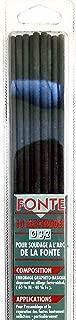 CEVAL France - Lote de 10 electrodos de hierro fundido, 3,2 mm de diámetro