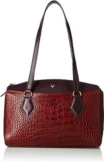Hidesign leather Women's Handbag KASAI 3 (Red)