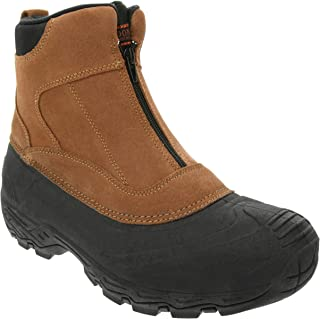 London Fog Mens Hamstead Waterproof and Insulated Cold Weather Snow Boot