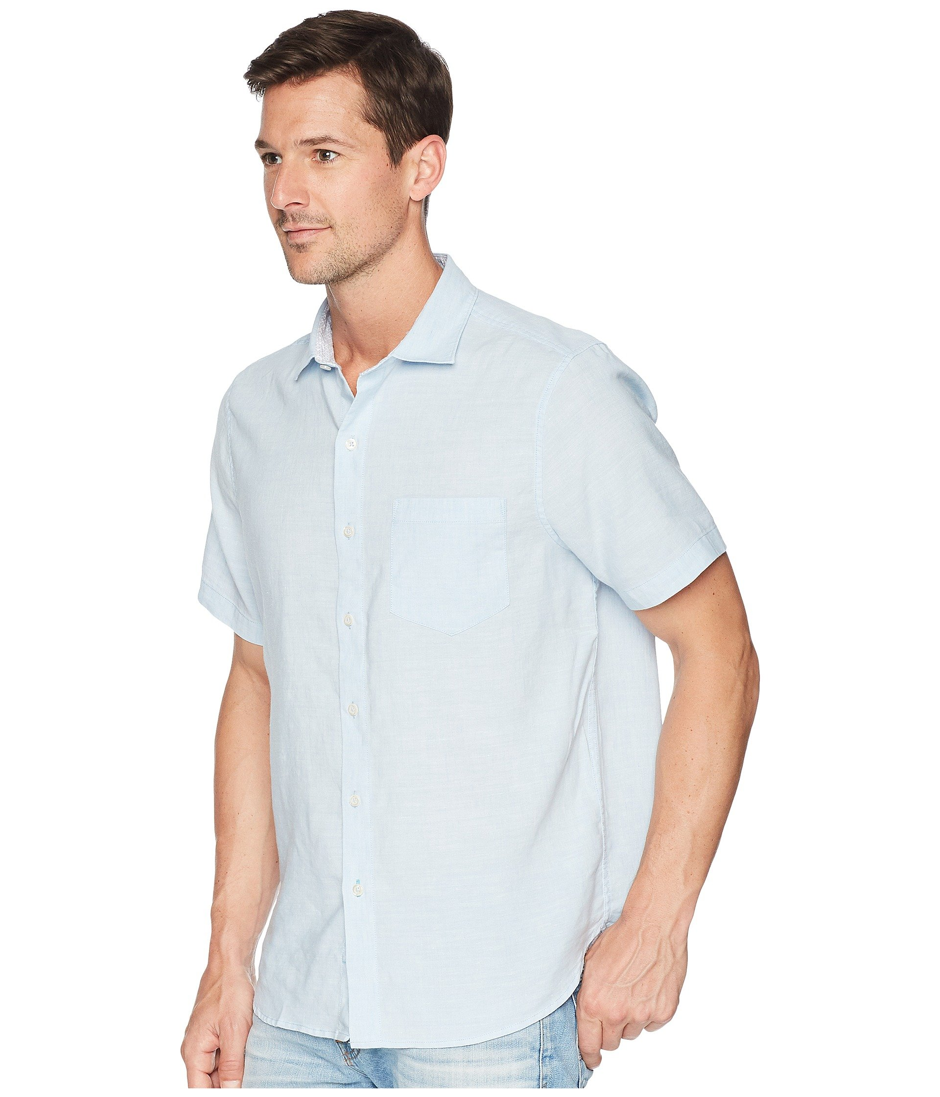 Fresh Short Air Tides Lanai Bahama Linen Tommy Shirt Sleeve 6qw0TZ