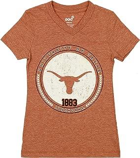 Outerstuff NCAA Little Kids (4-7) Texas Longhorns V-Neck Short Sleeve Tee