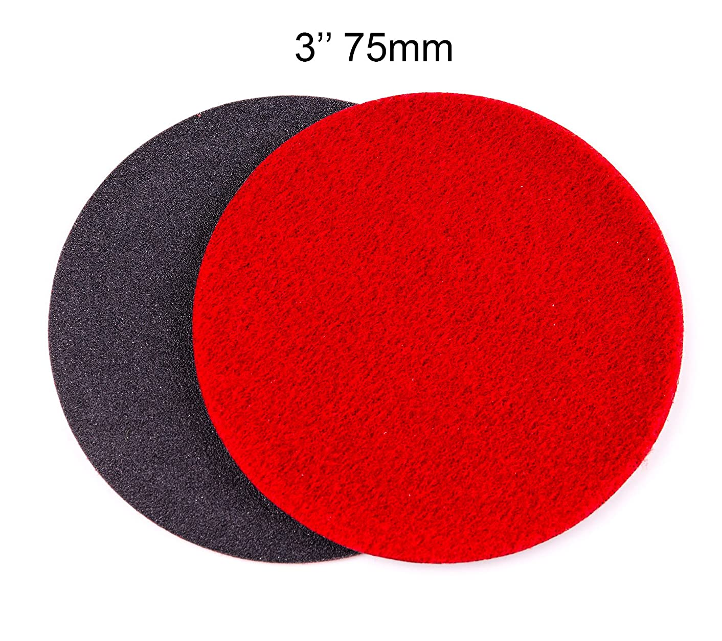 GP13304 GP-PRO150 COARSE Grade Sanding Disc for Glass, Silicon Carbide Abrasive Disc / 3-Inch (Pack of 10)