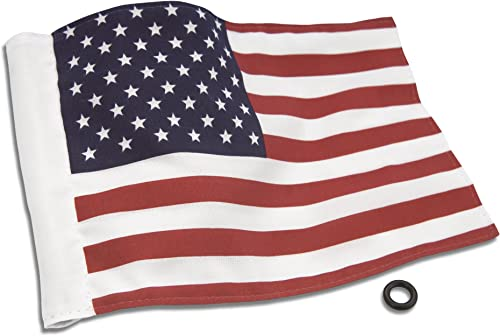 """high quality Show Chrome Accessories (4-240US) 6"""" x 9"""" outlet online sale online American Flag online sale"""