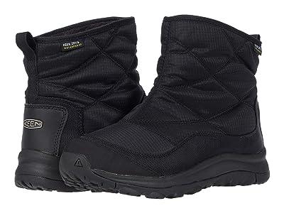 KEEN Terradora II Ankle Pull-On Waterproof (Black/Black) Women