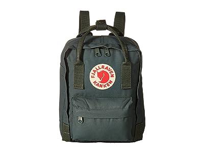 Fjallraven Kanken Mini (Forest Green) Backpack Bags