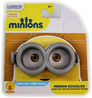 Minions Official Movie Exclusive Basic Goggles, One Size (Adjustable)