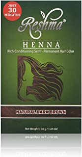 Reshma Beauty Natural Dark Brown 30 Minute Henna Hair Color
