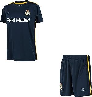 Real Madrid Conjunto Camiseta + Pantalones Cortos Colección Oficial - Niño
