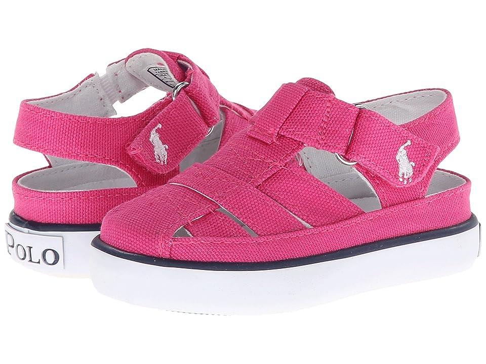 0f3999f37 Polo Ralph Lauren Kids Sander Fisherman II (Toddler) (Active Pink Canvas)  Girl s Shoes - 2555641 5 5 Toddler M by Polo Ralph Lauren Kids