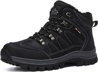 ARRIGO BELLO Hombre Botas Botines Zapatos Invierno Botas de Nieve Cálido Fur Forro Aire Libre Boots Urbano Senderismo Esqu...