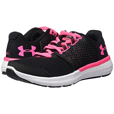 Under Armour UA Micro G Fuel RN (Black/White/Cerise) Women