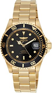 Invicta Pro Diver Men's Black Dial Stainless Steel Band Automatic Watch - INVICTA-8929OB