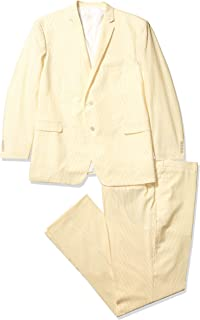 Men's Big and Tall Cotton Suit