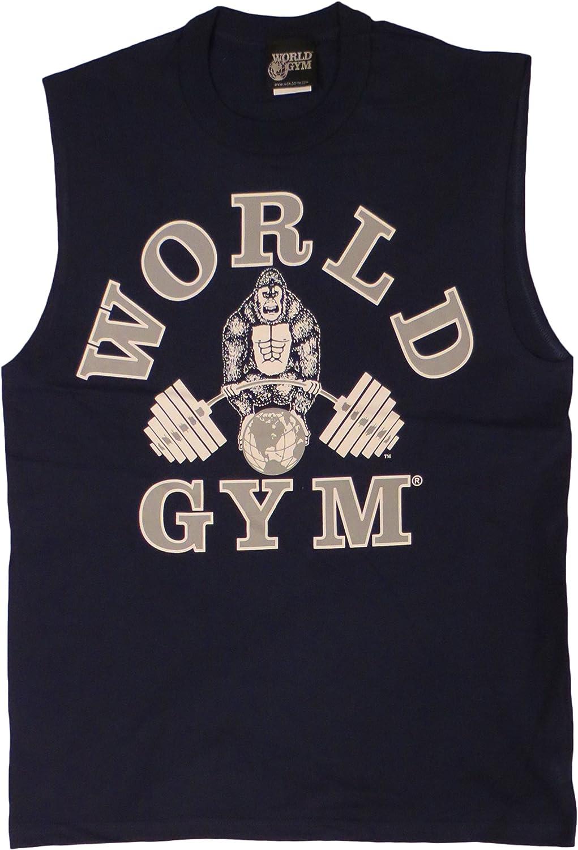 World Gym W190 Sleeveless Muscle Shirt