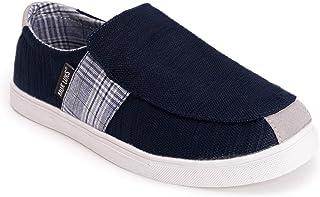 حذاء Kyle رجالي من MUK LUKS أزرق داكن مقاس 10 M US