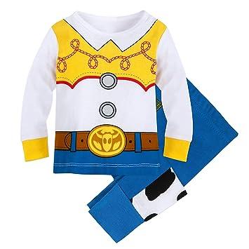 Disney Filles Toy Story Jessie Cowgirl Dressup Pyjama Lot Âge 1 2 3 4 5 6 ans
