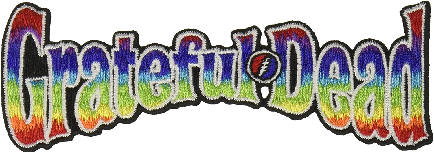CD Visionary outlet Application Grateful Rainbow Dead Patch Shipping included Logo