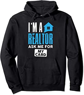 I'm a realtor hoodie real estate agent agency