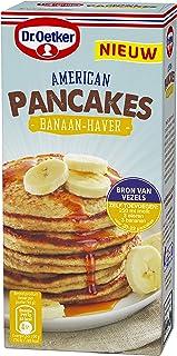 Dr.Oetker American Pancakes Banaan Haver (6x 300g multipack), mix voor 22 pancakes