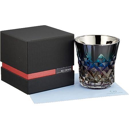 PROGRESS ロックグラス チタンミラー 日本製 ウィスキー ワイン お酒がまろやかに クロス付 (Rex, Infinite)