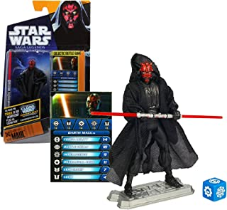 Star Wars, Saga Legends 2010 Series Action Figure, Darth Maul #08, 3.75 Inches