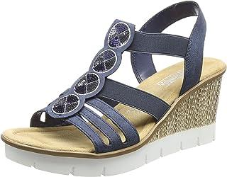 69836a3d8532 Amazon.fr : Rieker - Chaussures femme / Chaussures : Chaussures et Sacs