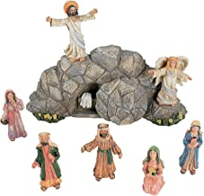 Fun Express Jesus Resurrection Set for Easter (8 Hand Painted Pieces) Home Decor and..