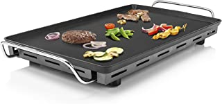 Plancha Chef XXL Teppanyaki 102325 Princess - Surface de cuisson :36 x 60 cm-Thermostat réglable - Plaque de teppanyaki tr...