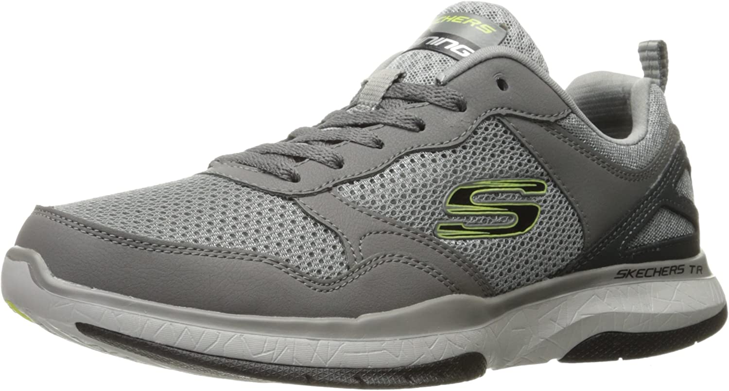 Skechers Men's Burst Tr- Halpert Low-Top Sneakers