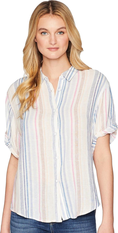 Splendid Womens Boyfriend Ss Shirt TShirt