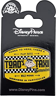 Disney Pin - Mr. Toad's Wild Ride - Toad Taxi Service