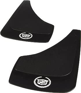 Highland 1031700 Black Cadillac Logo Molded Splash Guard - 2 Piece