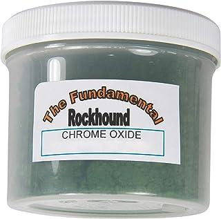 Fundamental Rockhound Products: 4 oz Chrome Oxide polishing Powder for Stainless Steel, Knives, Malachite, Lapis Lazuli