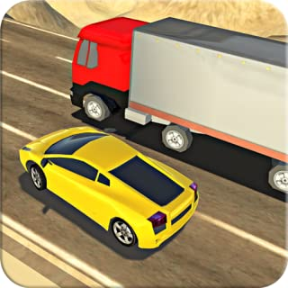 Heavy Racing In Car Traffic Racer Speed Driving