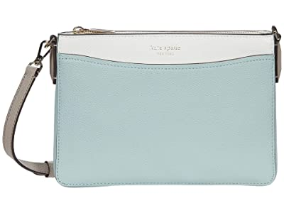 Kate Spade New York Margaux Medium Convertible Crossbody (Cloud Mist Multi) Handbags